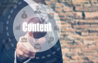 Quels sont les acteurs motivés pour la création de contenu ?