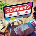 La création de contenu pour un site web