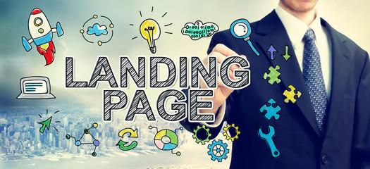 Création de contenu pour la Landing Page