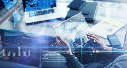 Le business intelligence pour transmettre les informations au bureau