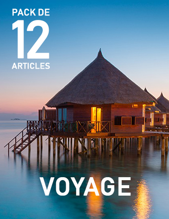 Pack Article Voyage