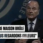 VIDÉO – Jacques Chirac : son discours sur «la maison brûle» en intégralité